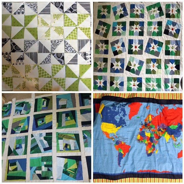 World Map Quilt – waterpenny quilts