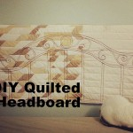 Make Your Own Quilted Headboard!