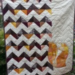 Fox Applique Quilt – Free Applique Pattern