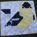Charley Harper Mosaic Goldfinch Finish