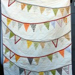 Bunting Flag Wedding Signature Quilts!