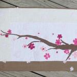 Cherry Blossom Mini Quilt