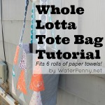 Whole Lotta Tote Bag Tutorial