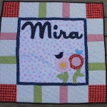 Baby Flower Quilt – Or How to Fix A Quilt