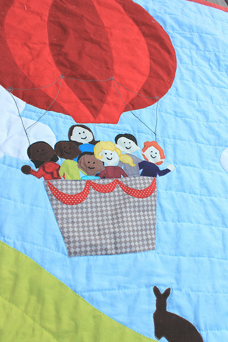 Australian Hot Air Balloon Quilt Waterpenny Quilts