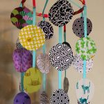 DIY Fabric Circles Mobile