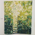 Stairs Through Burnet Woods Quilt