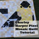 Charley Harper Bird Pixel Quilt – Plus Tutorial