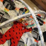 DIY Quilted Baby Play Gym